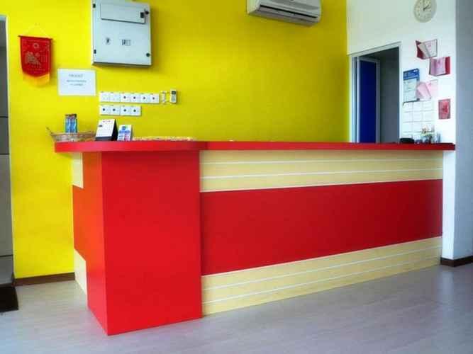 LOBBY 1st Inn Hotel Shah Alam @ I-City