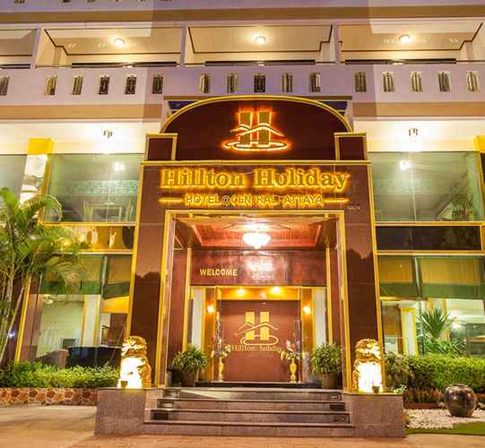 EXTERIOR_BUILDING Hilton Holiday Central Pattaya