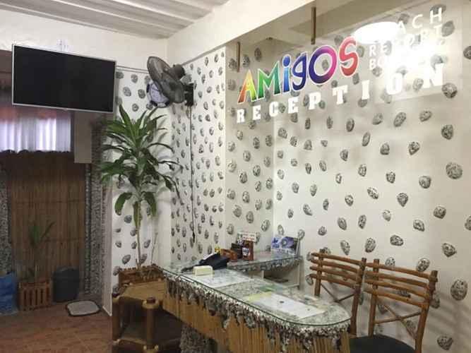 LOBBY Amigos Beach Resort Boracay