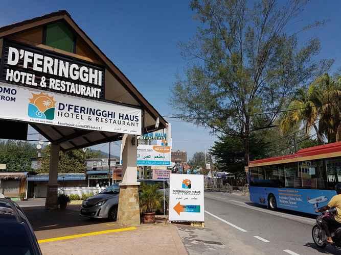 EXTERIOR_BUILDING D'Ferringhi Haus Hotel and Restaurant