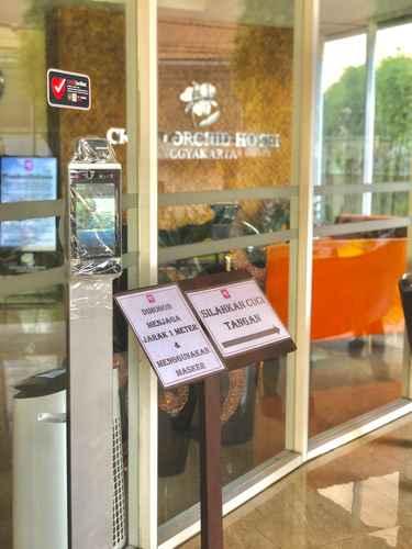 LOBBY Grand Orchid Hotel Yogyakarta