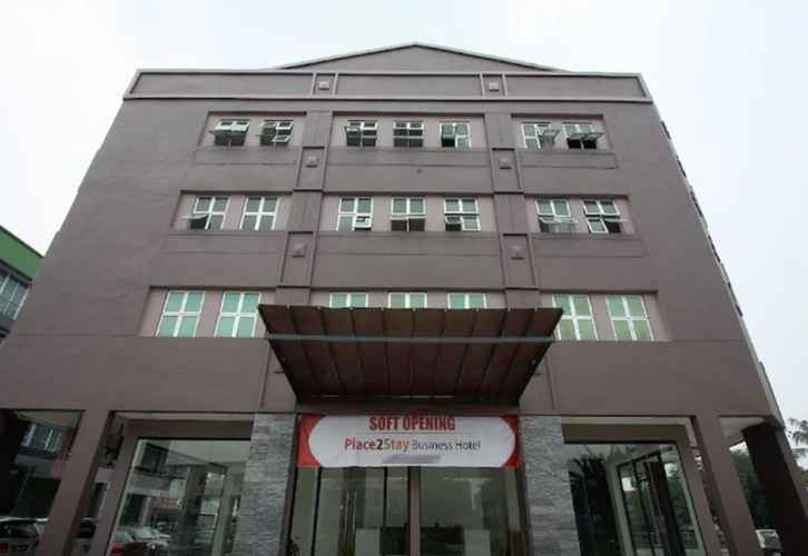 EXTERIOR_BUILDING Place2Stay Business Hotel @ Waterfront