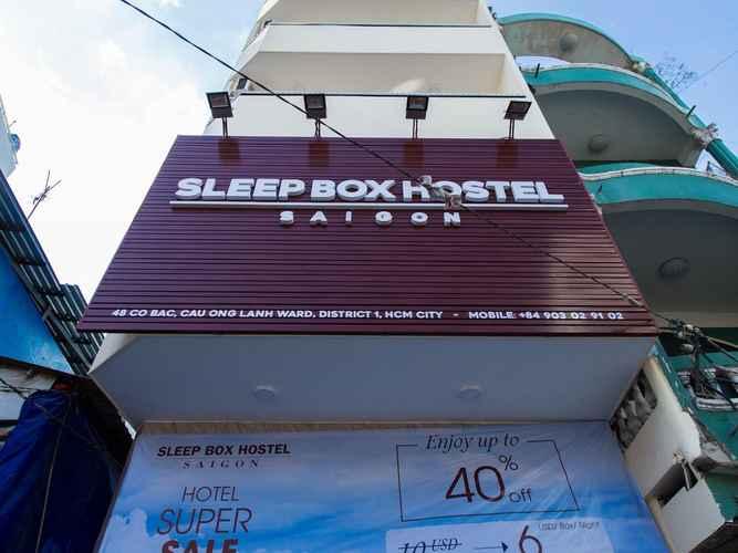 EXTERIOR_BUILDING Chy Chy Saigon Hostel (Sleep Box Hostel Saigon)