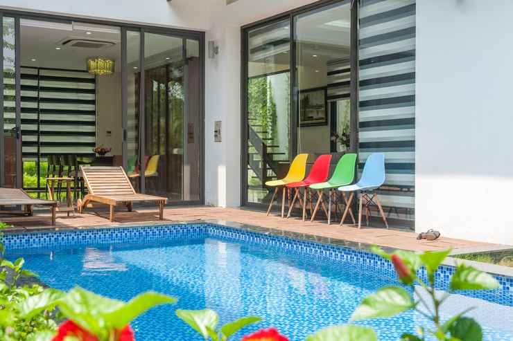 SWIMMING_POOL Hoàng Quyên Villa Đại Lải Resort