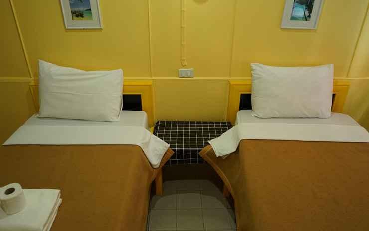 Yes Kaosan Bangkok - Twin Room A/C with Private Bathrooms