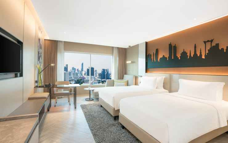 Pathumwan Princess Hotel Bangkok - Deluxe Classic Twin Room Only