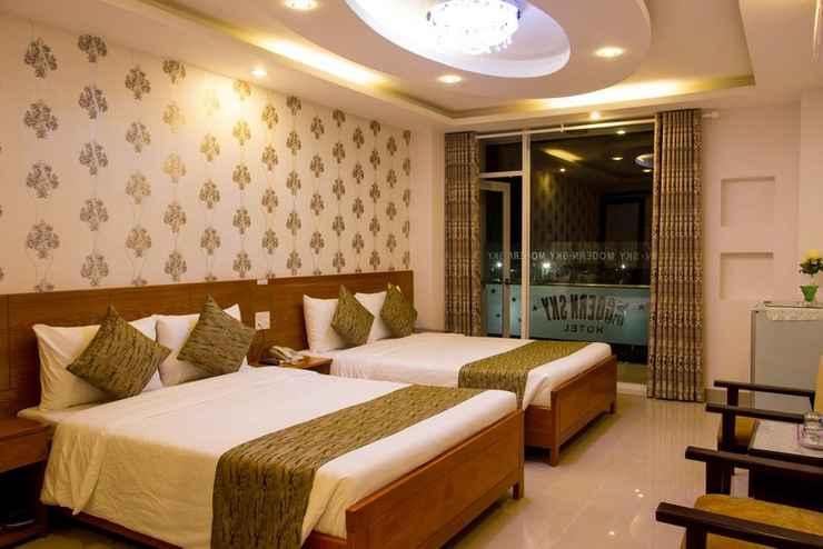 BEDROOM Khách sạn Modern Sky Nha Trang
