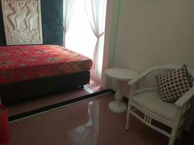 BEDROOM Homey Room at Cantel Griya