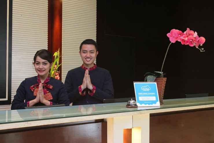 LOBBY Airy Premier Sei Pangeran Jendral Sudirman 153 Palembang