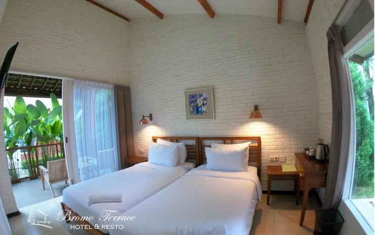 Bromo Terrace Hotel Probolinggo - Deluxe Twin with Private Terrace