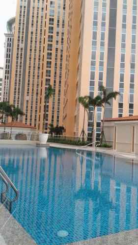 SWIMMING_POOL Suite Room @ Venice Luxury Residence McKinley Hill BGC