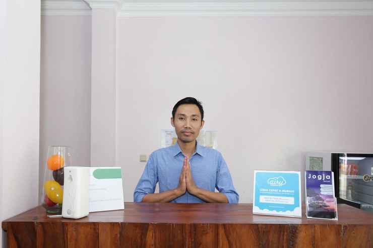 LOBBY Airy Eco Syariah STTA Pelem Lor Gang Dewandaru Dua Yogyakarta