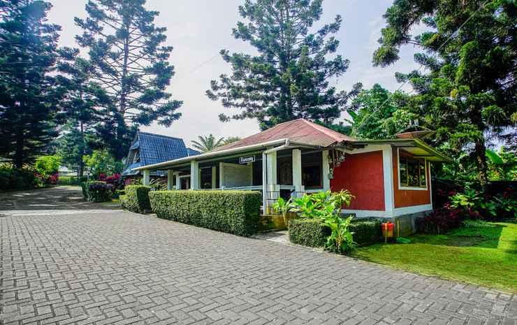 Terrace Villa Golf Bogor - Villa Bali Style 1 Kamar B