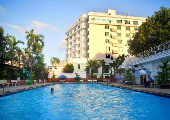 SWIMMING_POOL Khách sạn Central Quảng Ngãi
