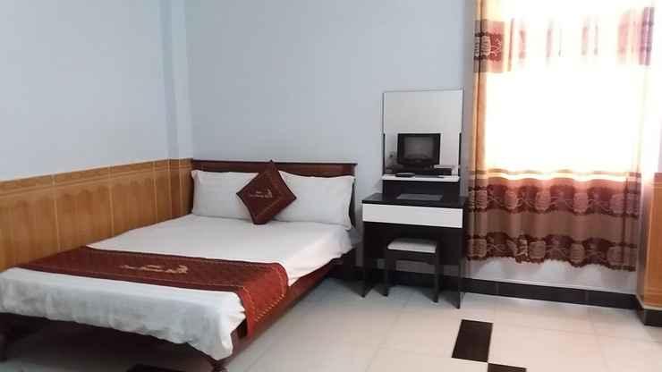 BEDROOM Khách sạn Trúc Hoàng Hà Kon Tum