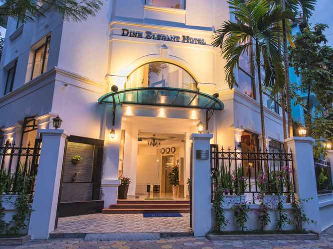 EXTERIOR_BUILDING Khách sạn Đinh Elegant