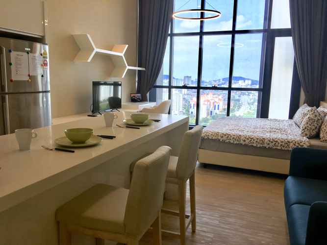 BEDROOM Studio Apartment 2 @ M City Residential Suites KL