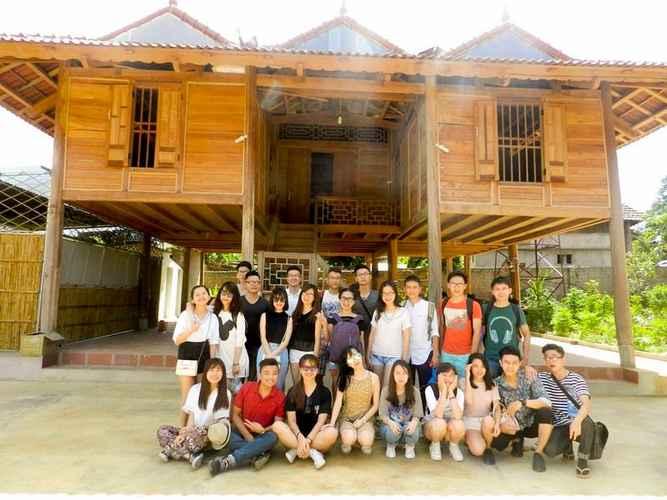 EXTERIOR_BUILDING Mộc Châu Mộc Homestay