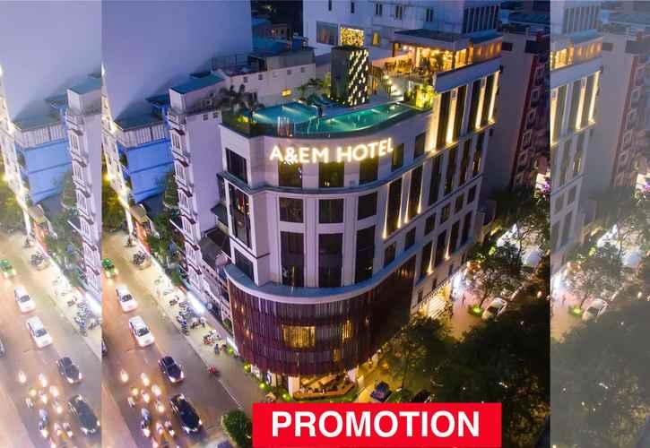 EXTERIOR_BUILDING A&Em Saigon Hotel (former A&Em Corner Sai Gon Hotel)