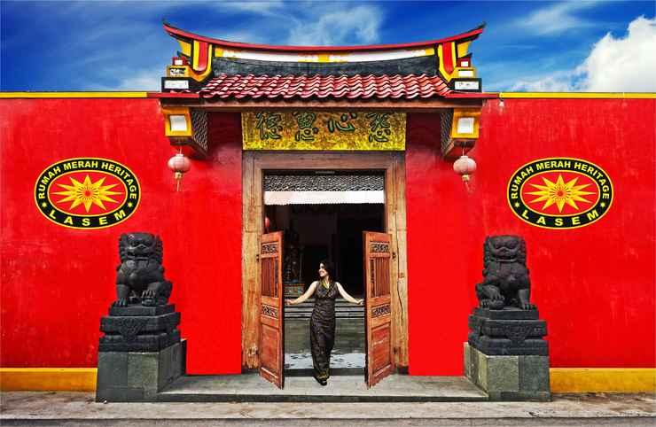 LOBBY Nice Stay at Tiongkok Kecil Heritage Lasem