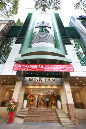 EXTERIOR_BUILDING Minh Tam Hotel & Spa 3/2
