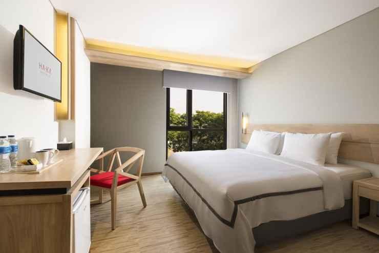 BEDROOM HA-KA Hotel Semarang Managed by Parador