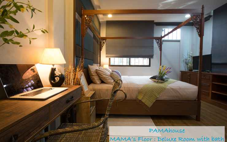 Pamahouse Boutique Hostel Bangkok - Deluxe Room Only (Private Bathroom)