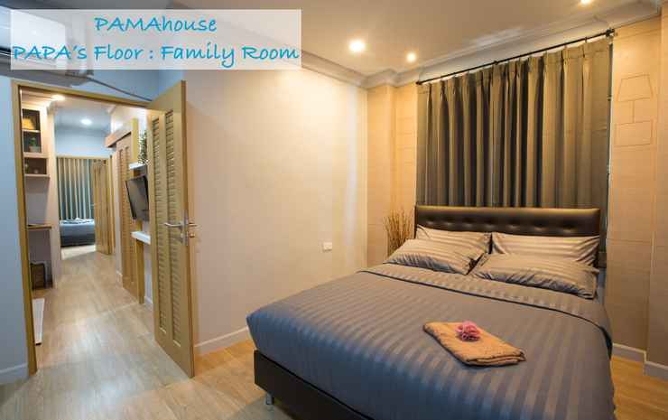 Pamahouse Boutique Hostel Bangkok - Family 2 Bedrooms Room Only (Private Bathroom)