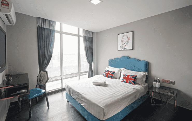 Artz Hotel Johor Bahru Johor - Deluxe Queen Room