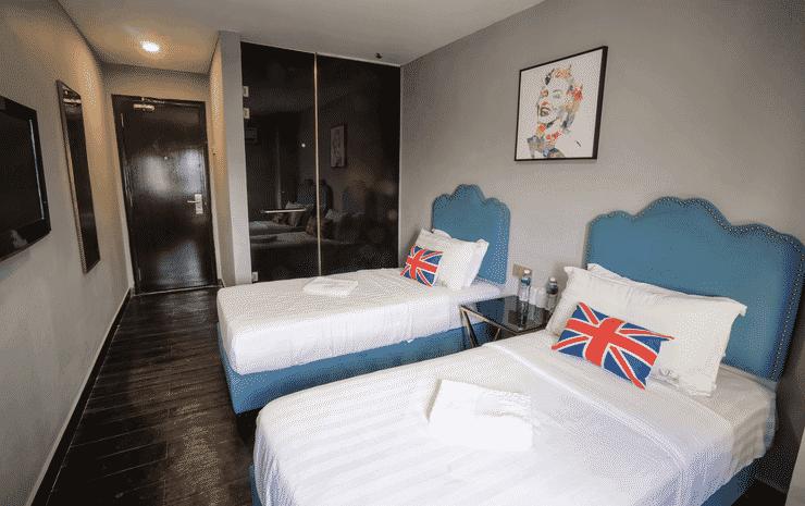 Artz Hotel Johor Bahru Johor - Deluxe Twin Room