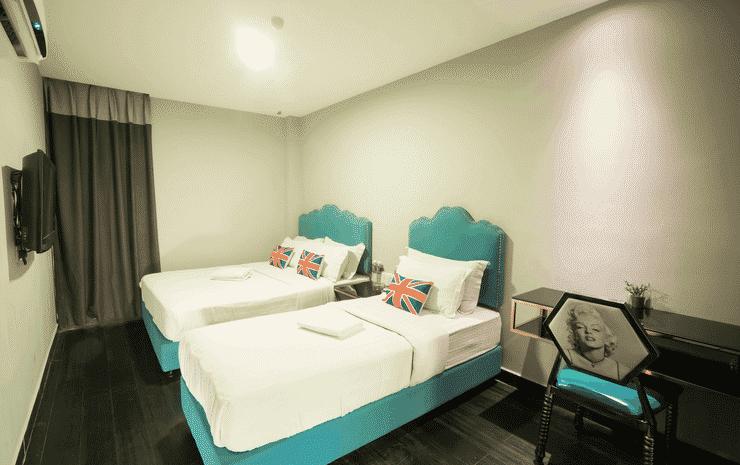 Artz Hotel Johor Bahru Johor - Superior Family Junior Room