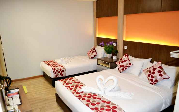 City Central Hotel @ KL Sentral Kuala Lumpur - Deluxe Triple Room Only