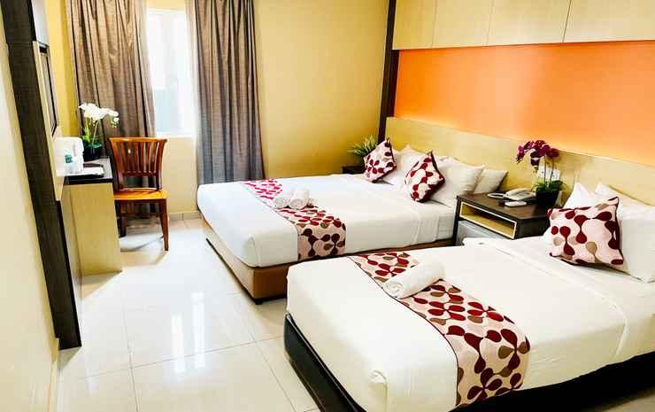 City Central Hotel @ KL Sentral Kuala Lumpur - Kamar Triple Deluks