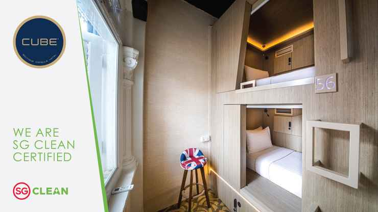 BEDROOM CUBE Boutique Capsule Hotel @ Kampong Glam