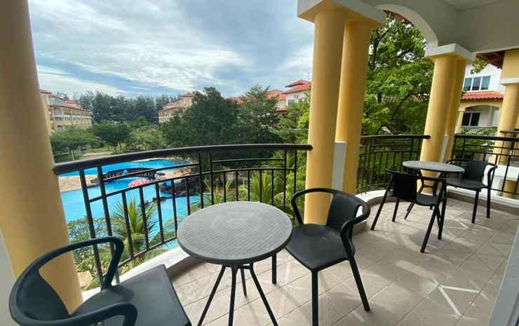 Tiara Desaru Residences Johor - Penthouse for 7 Pax
