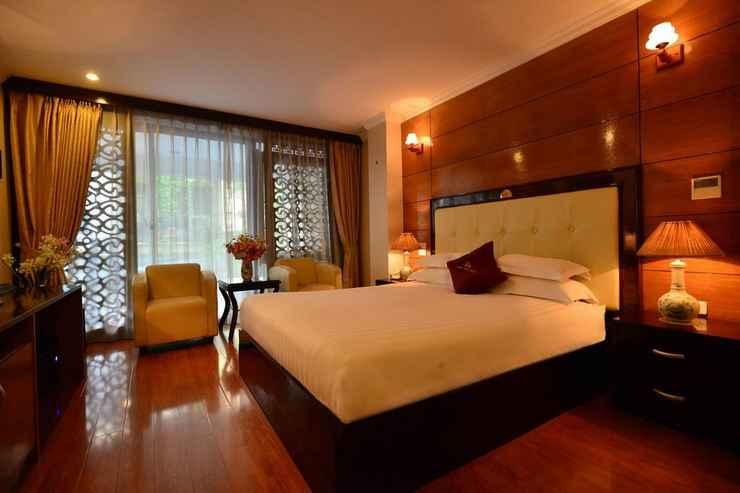 BEDROOM Golden Cyclo Hotel