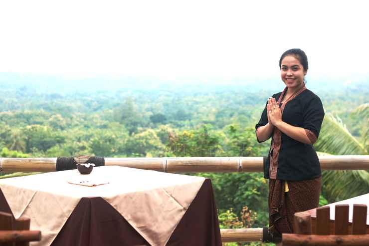 RESTAURANT RAJAKLANA Resort Villa and Spa