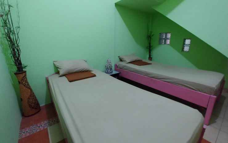 Homey Room at BottleBottle House Yogyakarta - Twin Bed Room (Max Checkin 22.00)