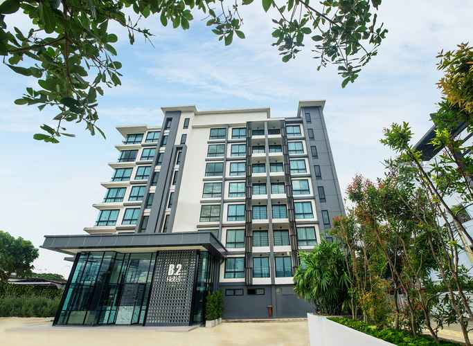 EXTERIOR_BUILDING โรงแรมบีทู แม่สอด พรีเมียร์