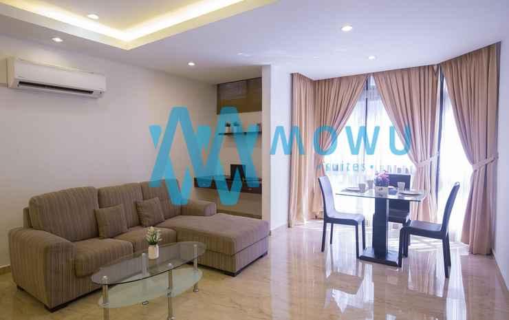 Mowu Suites @ Bukit Bintang Kuala Lumpur - 3-Bedroom Superior Suite