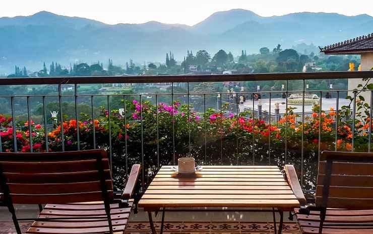 Seruni Hotel Gunung Pangrango Bogor - Deluxe-Mountain View