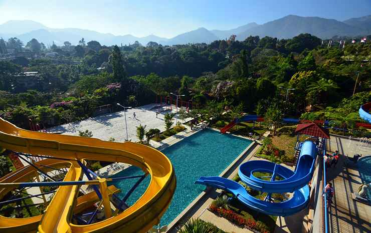 SWIMMING_POOL Seruni Hotel Gunung Pangrango