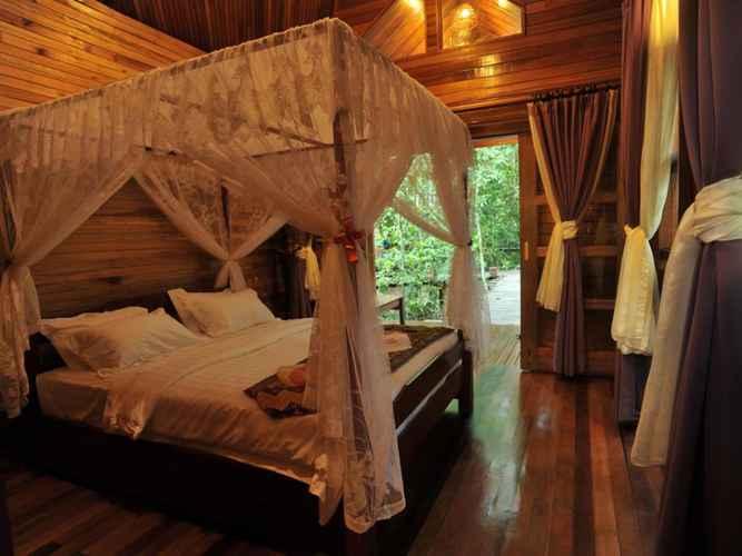 BEDROOM Borneo Natural Sukau Bilit Resort