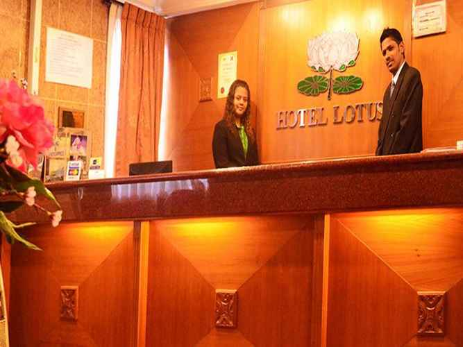 LOBBY Lotus Hotel Jalan Medan Tuanku