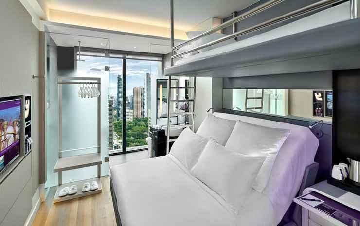 YOTEL Singapore Orchard Road Singapore - Premium Queen View with Bunk