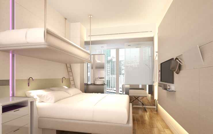 YOTEL Singapore Orchard Road Singapore - Premium Queen View with Bunk (with Breakfast + Early Check-In on Weekdays Exclude eve PH and PH)