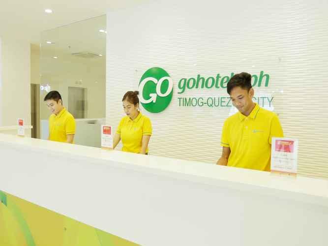 LOBBY Go Hotels Timog - Quarantine Hotel