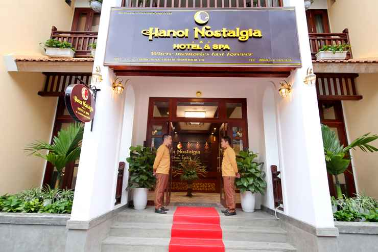 EXTERIOR_BUILDING Khách sạn Nostalgia Hotel & Spa Hà Nội