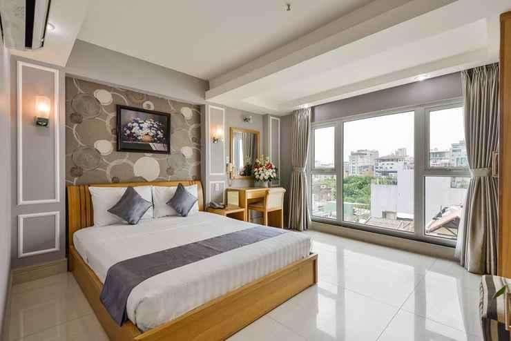 BEDROOM Lucky Star Hotel 146 Nguyen Trai