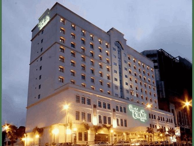 EXTERIOR_BUILDING Crystal Crown Hotel Kuala Lumpur